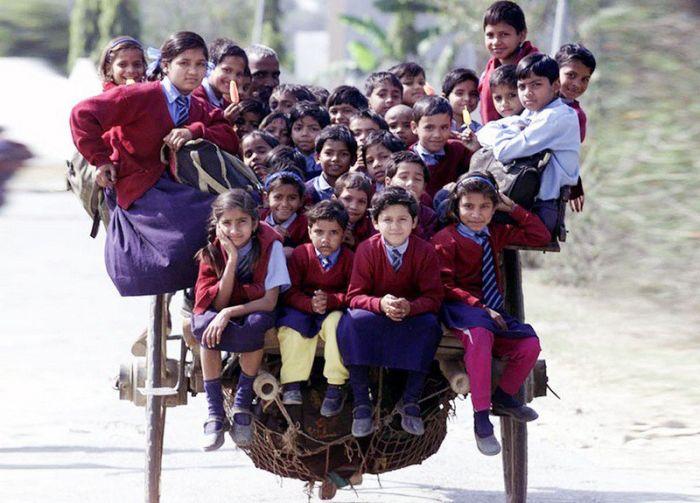 Cele mai periculoase drumuri spre școală