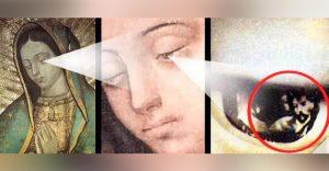 ochii fecioarei din guadalupe