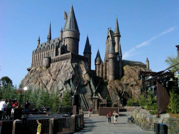 Atractii turistice - Harry Potter 1
