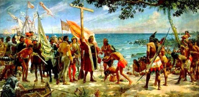 Cristofor Columb - Intalnire bastinasi