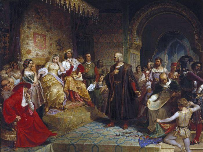 Cristofor Columb - Isabella si Ferdinand