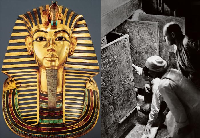 Obiecte blestemate - Tutankhamon