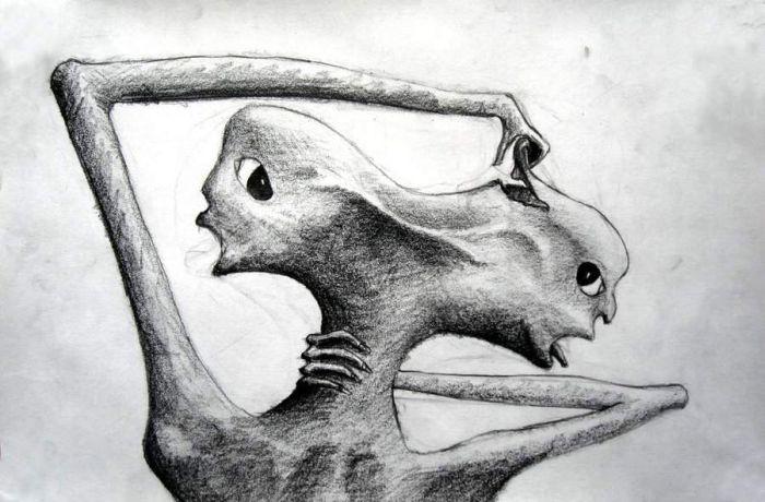 experimente medicale - desen schizofrenie