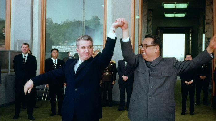 viata in coreea de nord - kim ir sen si ceausescu