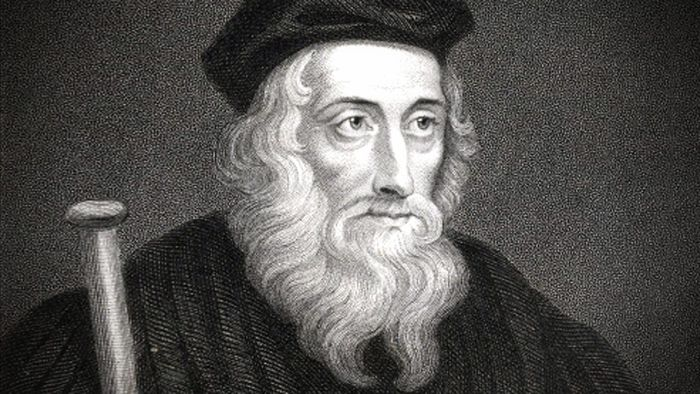 Oameni faimosi - John Wycliffe