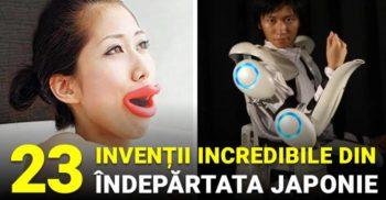 28 de invenții japoneze incredibile, dintr-o țară unde imaginația nu doarme niciodată