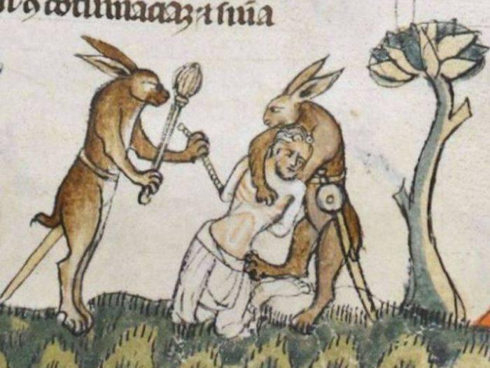 Arta medievala - Iepuri ucigasi
