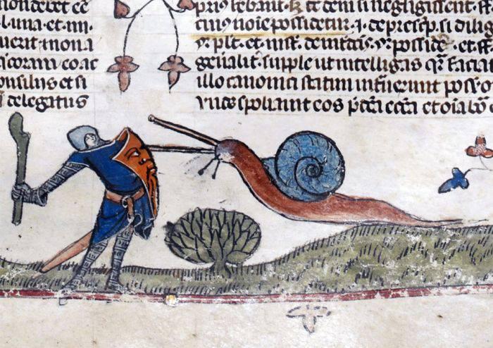 Arta medievala - Melci