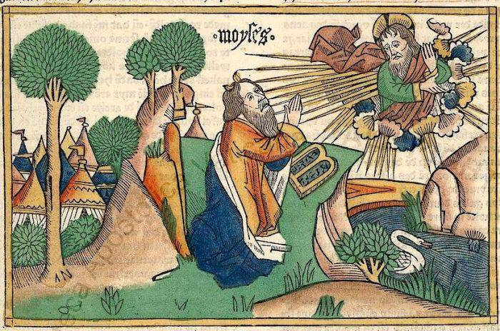 Arta medievala - Moise