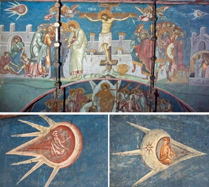Arta medievala - Nave spatiale
