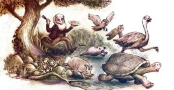 Latura flămândă a lui Charles Darwin: Gătea animalele pe care le studia