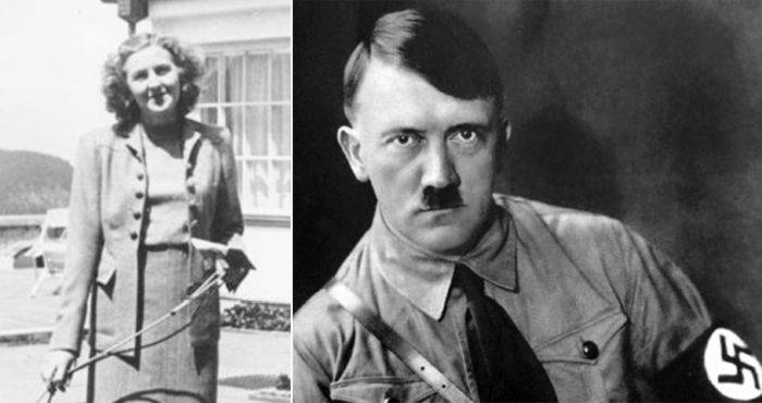 Eva Braun - Adolf Hitler