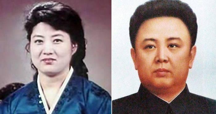 Ko Yong-hui - Kim-Jong-il