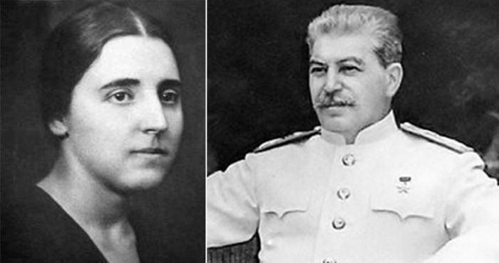 Nadejda Allilueva - Iosif Stalin