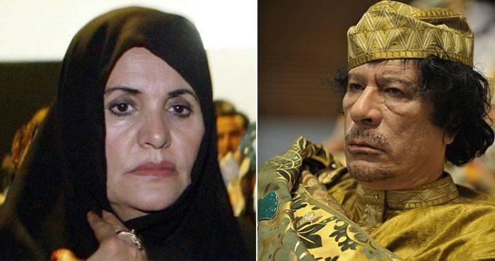 Safia Farkash - Muammar Gaddafi