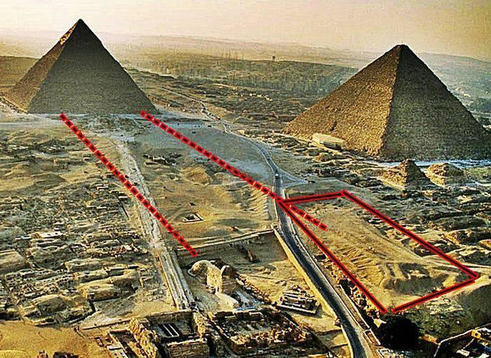 Sfinxul din Egipt - Al doilea sfinx