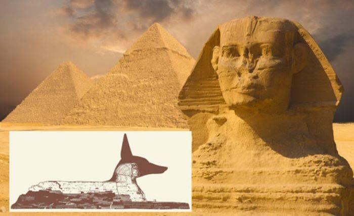 Sfinxul din Egipt - Caine