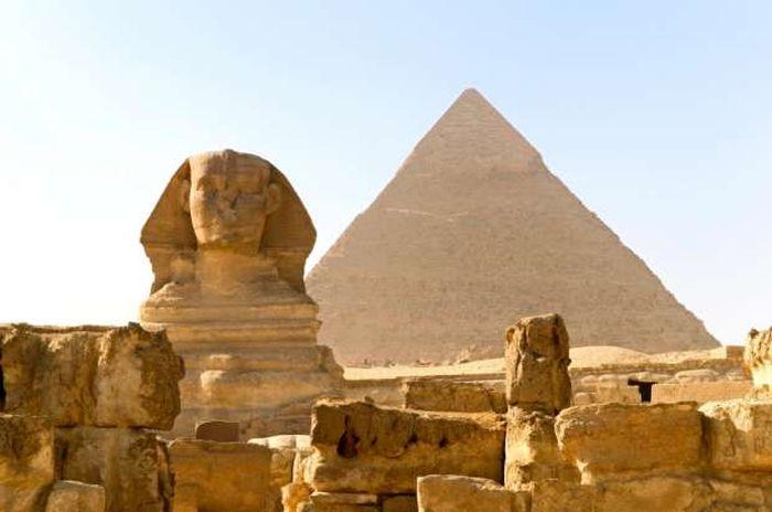Sfinxul din Egipt - Platou