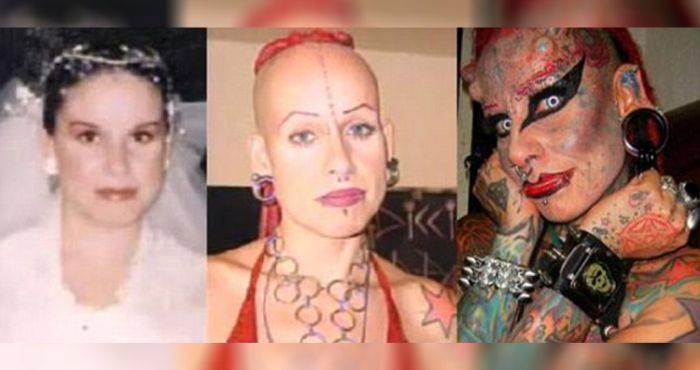 oameni care și-au modificat corpul