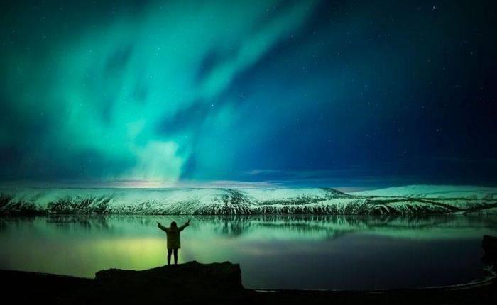 Cele mai frumoase locuri din lume - Aurora Boreala