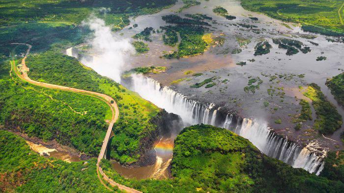 Cele mai frumoase locuri din lume - Cascada Victoria