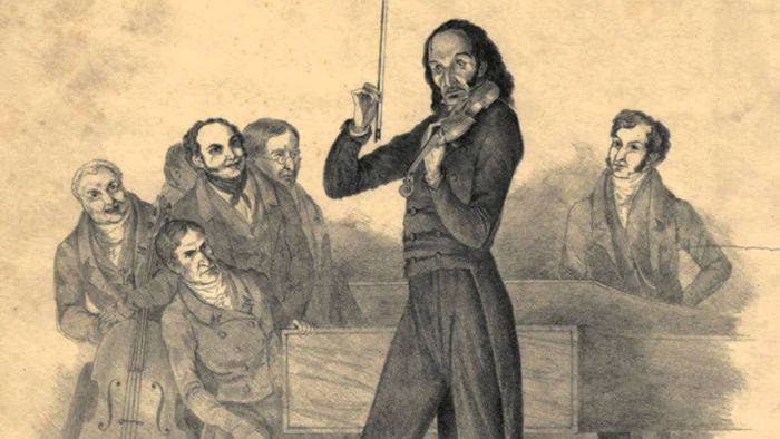 Muzicieni misteriosi - Niccolo Paganini