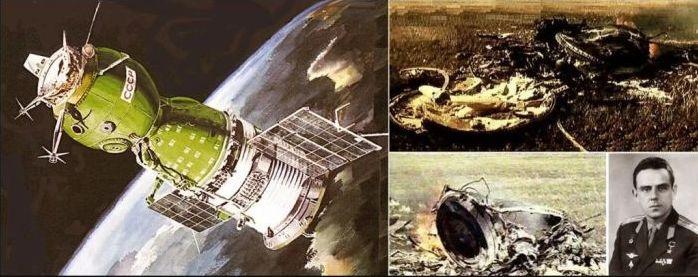 spațiul cosmic Vladimir Komarov