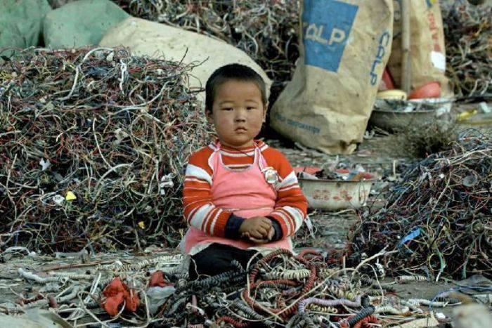 poluarea în china