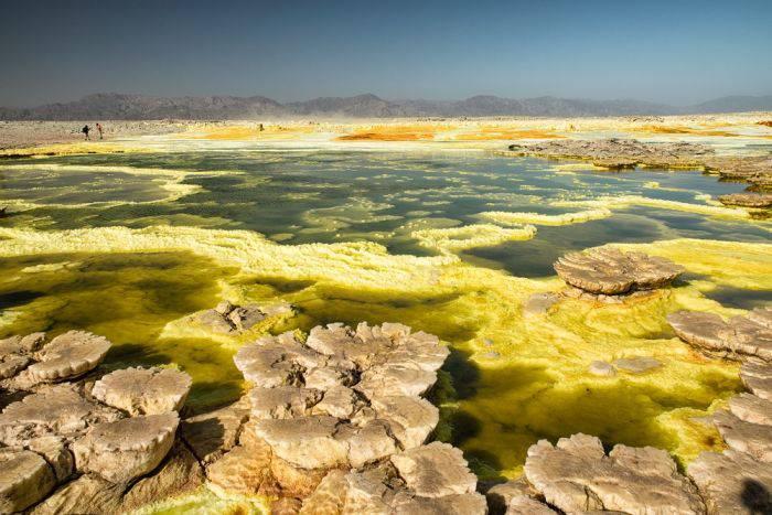 Destinatii turistice mortale - Desertul Danakil