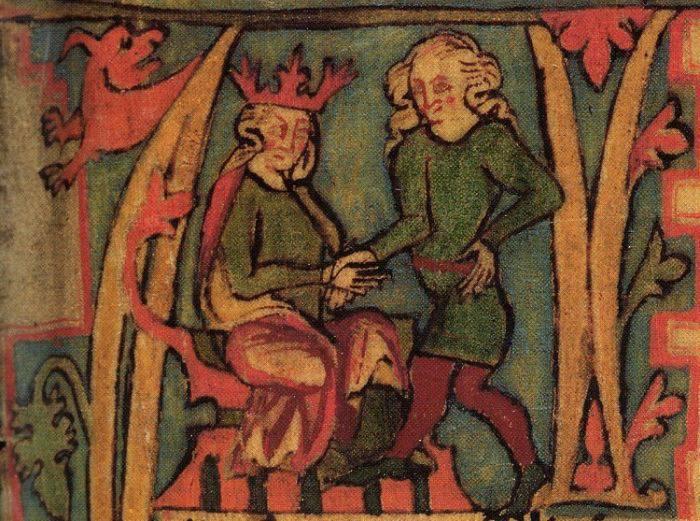 Porecle regale - Harald cel Paduchios