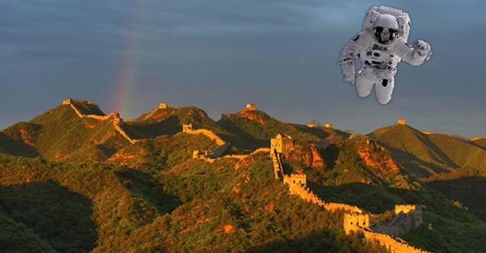 NASA confirmă: Nu poți vedea din spațiu Marele Zid Chinezesc