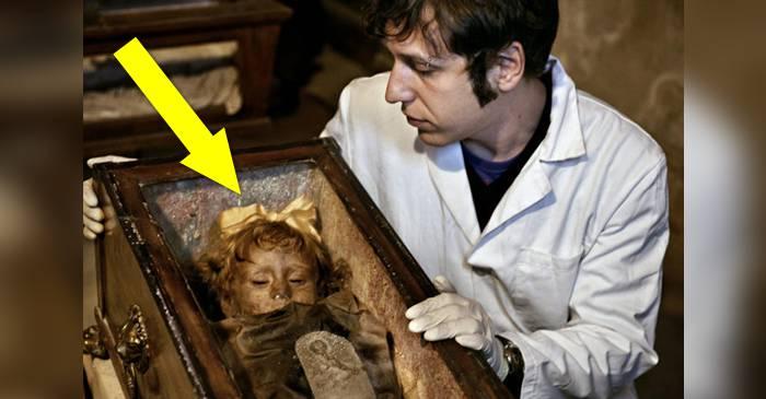 Cazul Rosalia Lombardo - Copilul-mumie care a fascinat cercetătorii