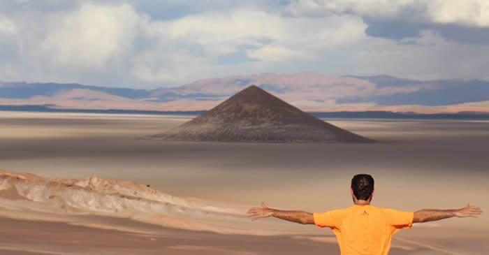 Cono de Arita: o piramidă bizară în pustietățile Argentinei