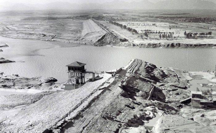 Dezastre ingineresti - Baraj China
