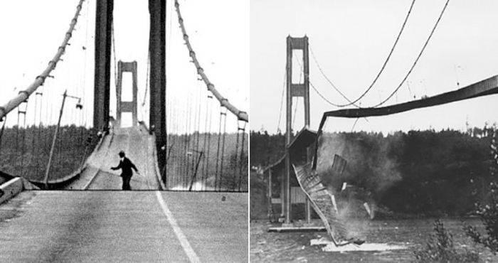 Dezastre ingineresti - Podul Tacoma
