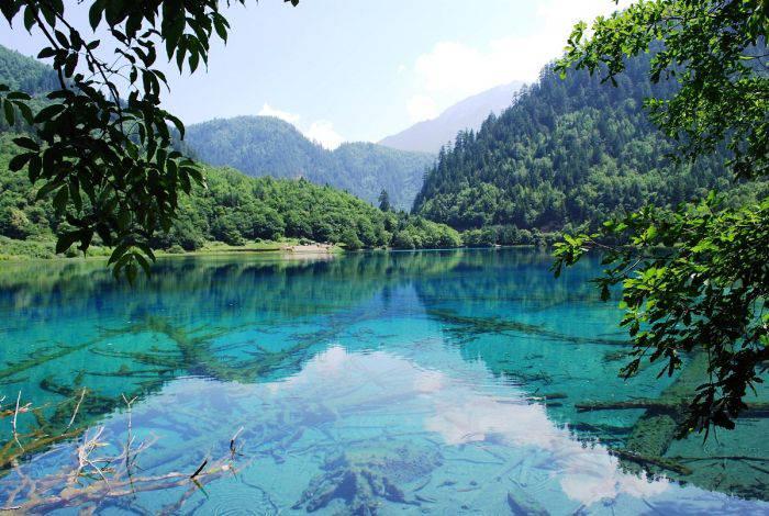 Minuni ale naturii - Valea Jiuzhaigou