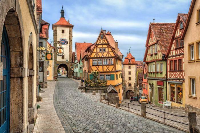 Orase europene - Rothenburg