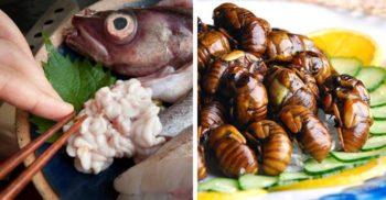 Un meniu extraordinar – 5 feluri ciudate de mâncare japoneză