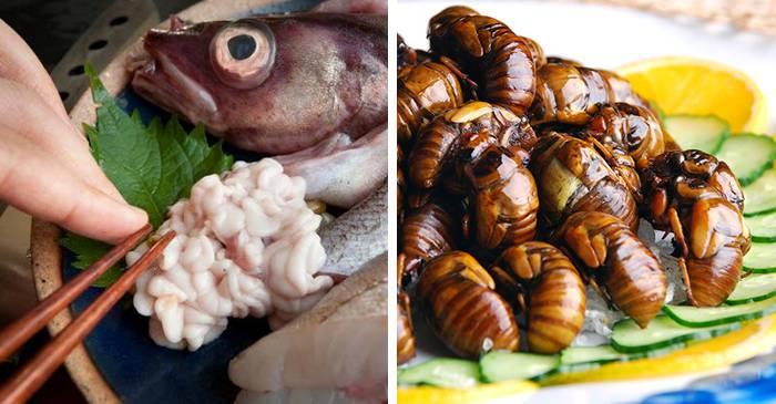 Un meniu extraordinar - 5 feluri ciudate de mâncare japoneză