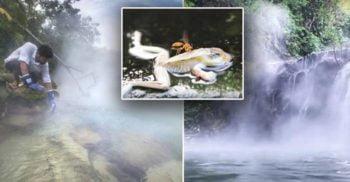 Râul care Fierbe - Apa misterioasă din Peru care ucide orice vietate