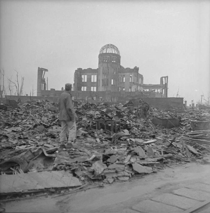 bomba de la Hiroshima