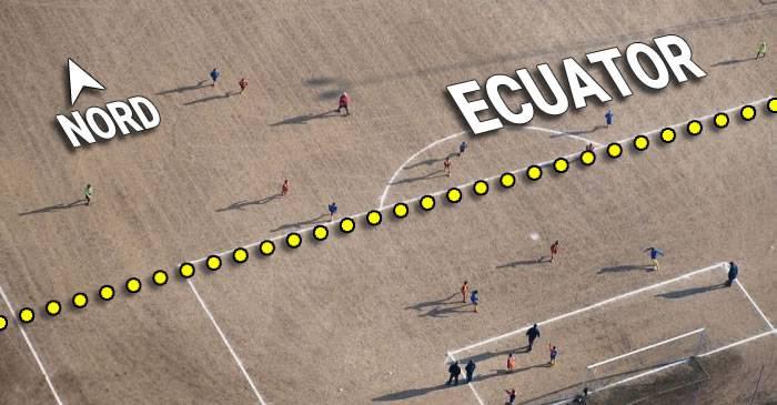 Stadionul de fotbal construit pe ambele emisfere ale Pământului
