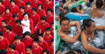 Mușuroiul uman: 15 imagini impresionante care arată aglomerația din China