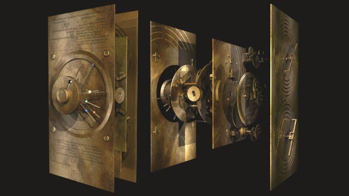 Mecanismul de la Antikythera - Detaliu