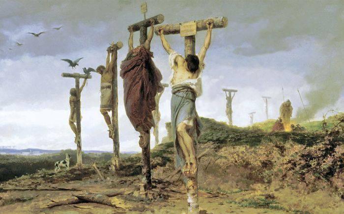 Metode de executie - Crucificare