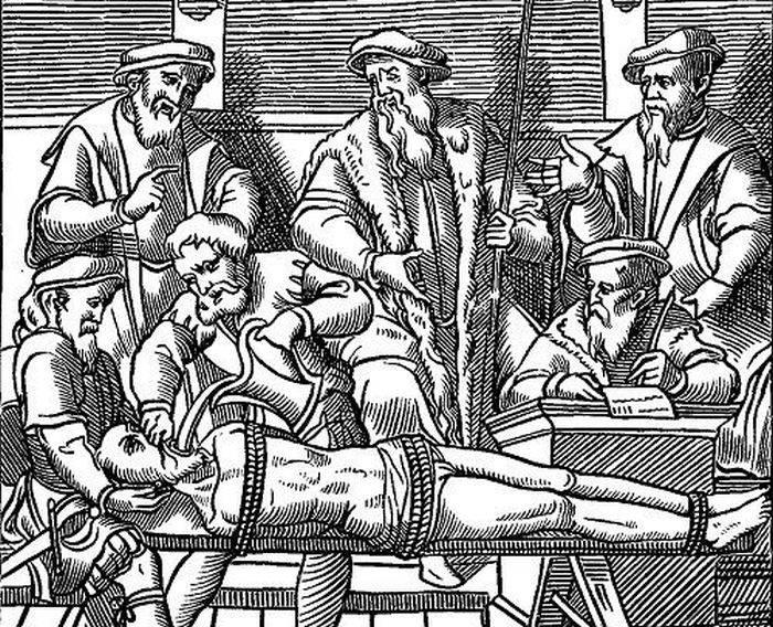 Metode de executie - Eviscerare