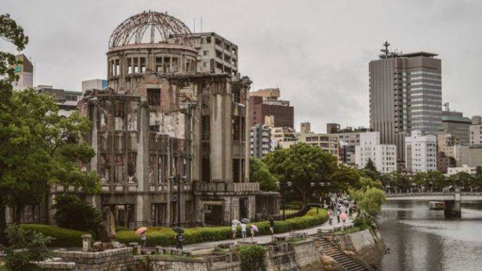 bomba de la Hiroshima