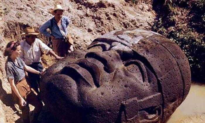 Capul de piatră din Guatemala