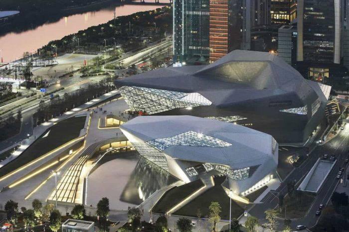 Cladiri moderne - Guangzhou 02