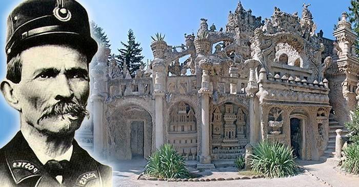 Ferdinand Cheval, poștașul care și-a petrecut 33 de ani construind un palat cu pietre adunate de pe drum featured_cpr